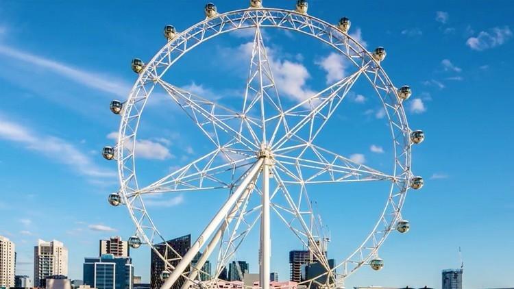 Melbourne Star Observation Wheel during daytime
