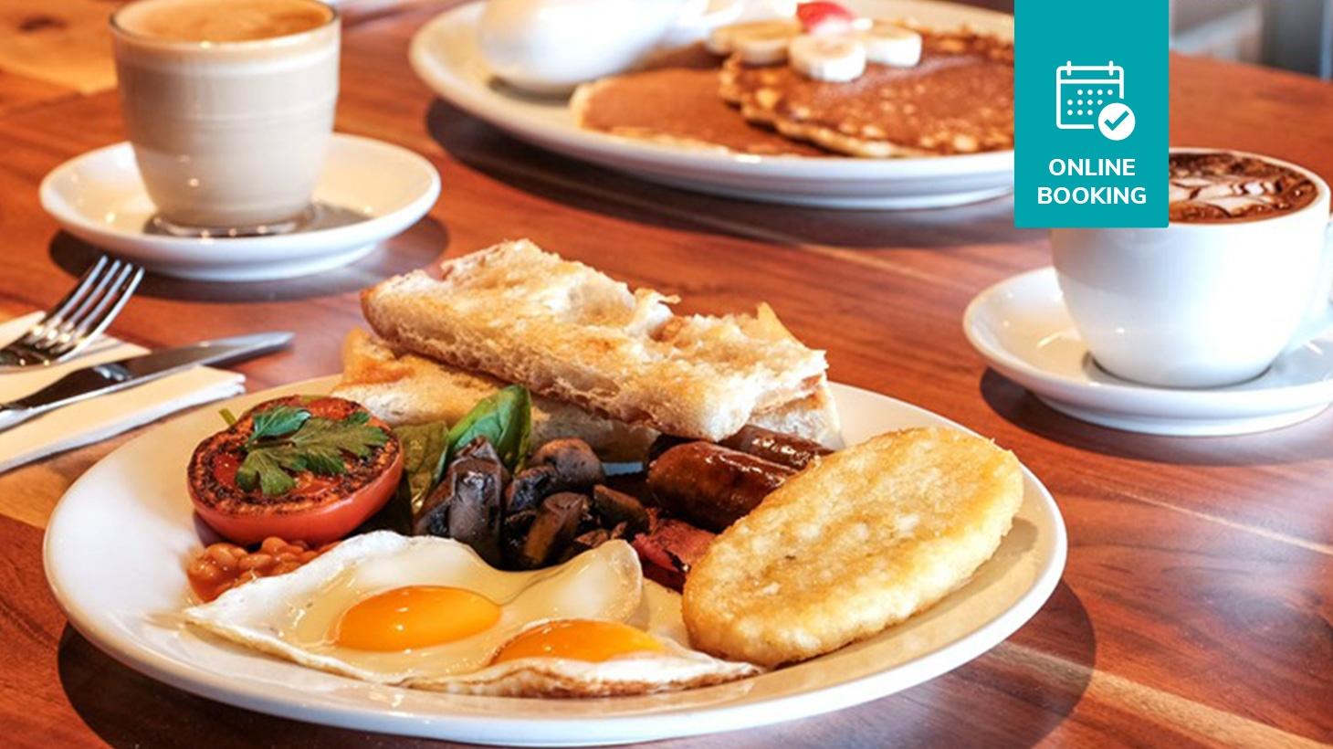 Waterfront Breakfast in Mandurah with Barista-Made Coffee