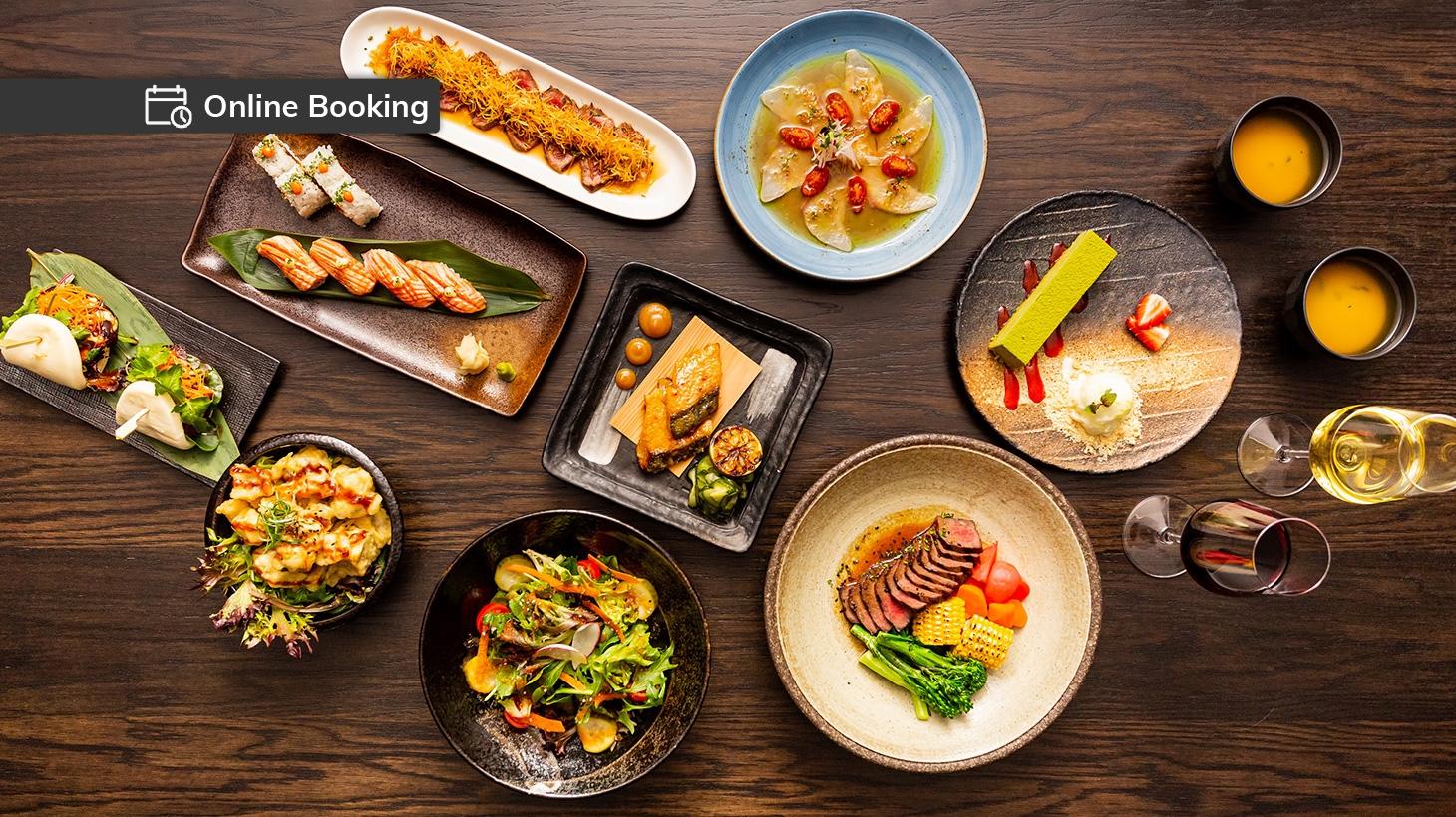 Nine-dish Japanese degustation at Tokyo Laundry