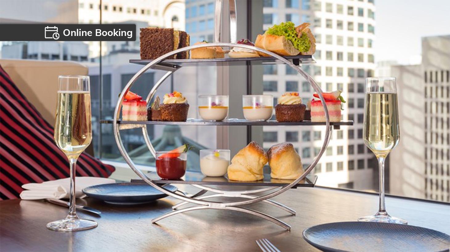 High tea set at Swissotel Sydney