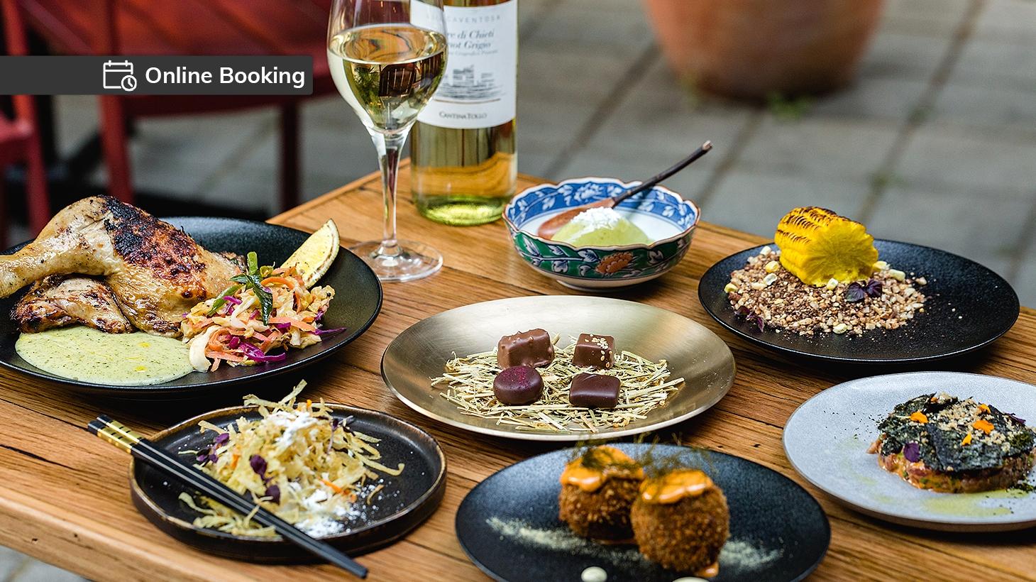 Binchotan Grill & Tapas 7 course degustation