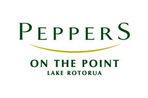 Peppers on the Point Lake Rotorua logo
