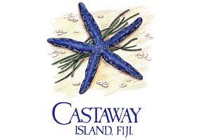 Castaway Island, Fiji - AUG 2018 logo