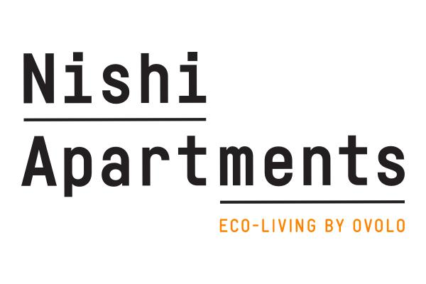 Nishi Apartments Eco-Living by Ovolo logo