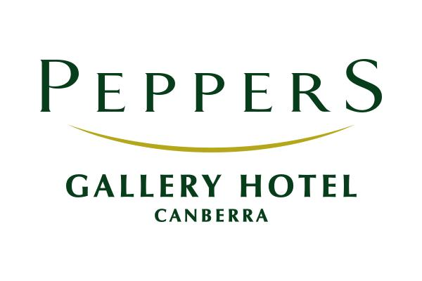 Peppers Gallery Hotel Canberra - Feb 2020 logo