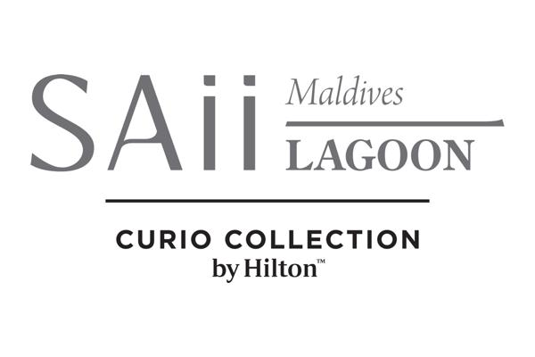 SAii Lagoon Maldives, Curio Collection by Hilton logo