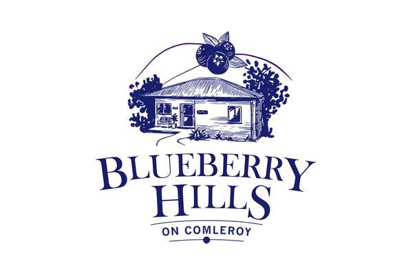 Blueberry Hills on Comleroy logo