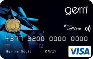 Apply for a GEM Visa Card