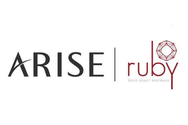 Arise Ruby Gold Coast logo