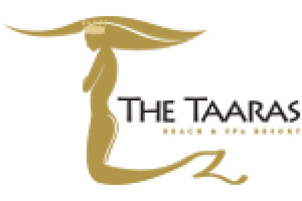 The Taaras Beach & Spa Resort logo