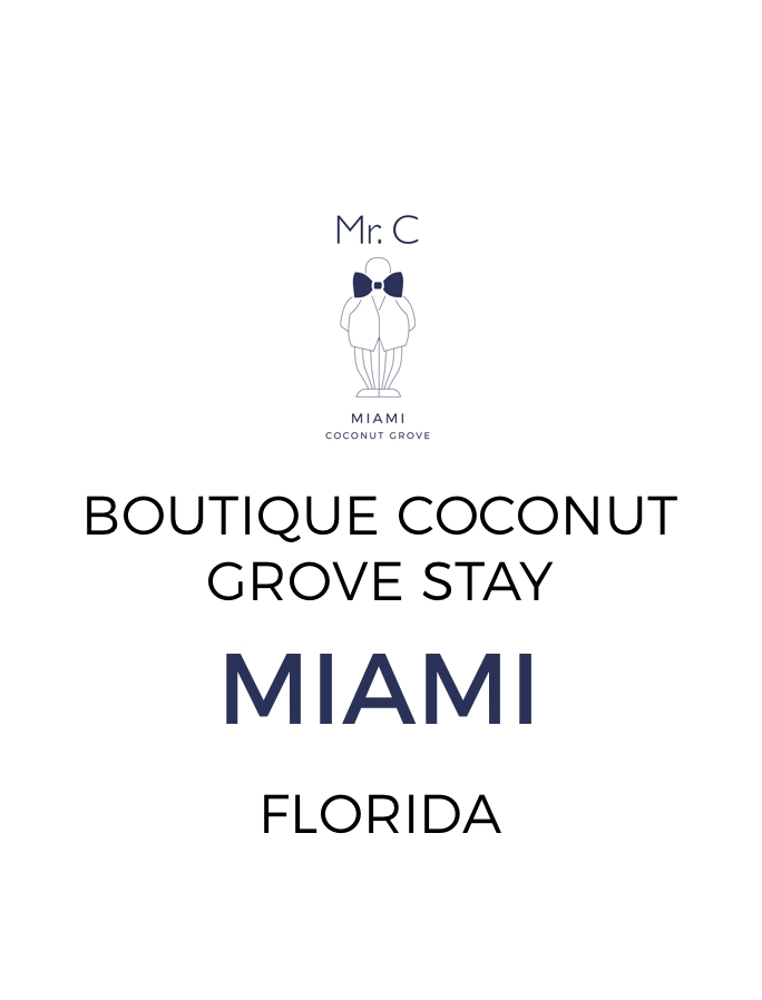 Boutique Stay in Miami's Coconut Grove with US$100 Spa Credit