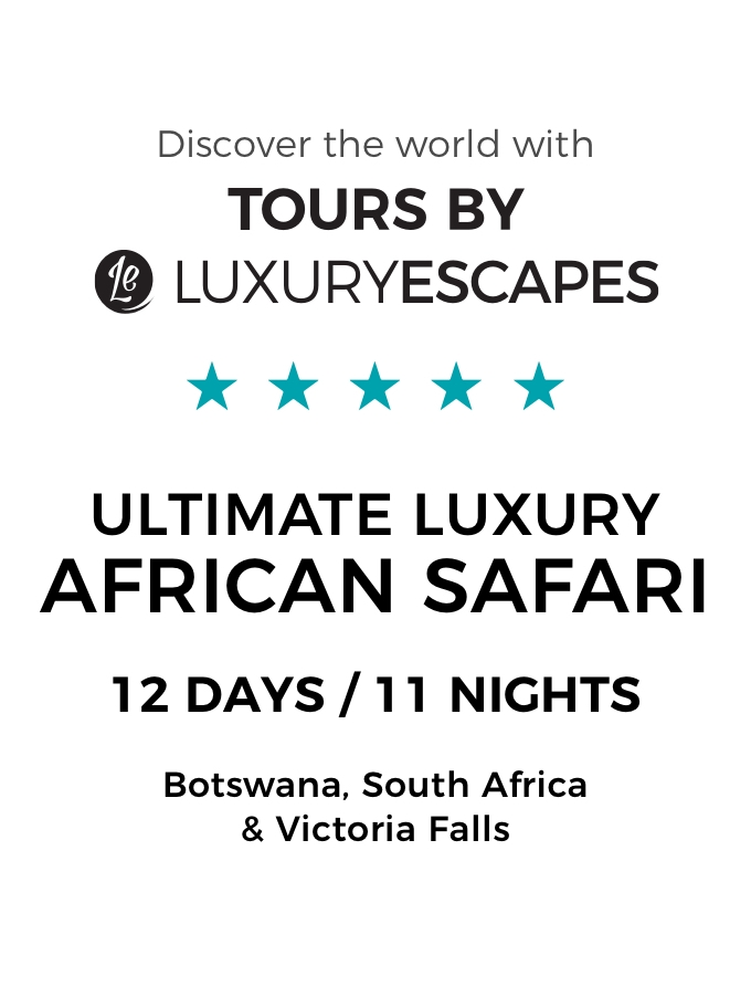 Botswana, South Africa & Victoria Falls: The Ultimate Luxury Safari with Game Drives and Scenic Helicopter Flight