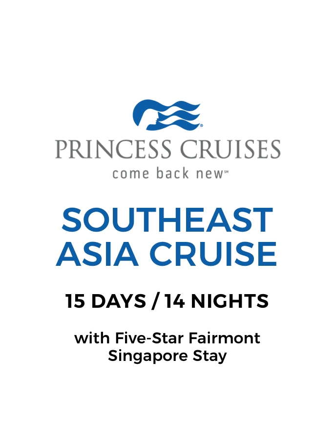Southeast Asia Adventure: 11-Night Cruise to Vietnam, Cambodia and Thailand with Opulent Fairmont Singapore Stay