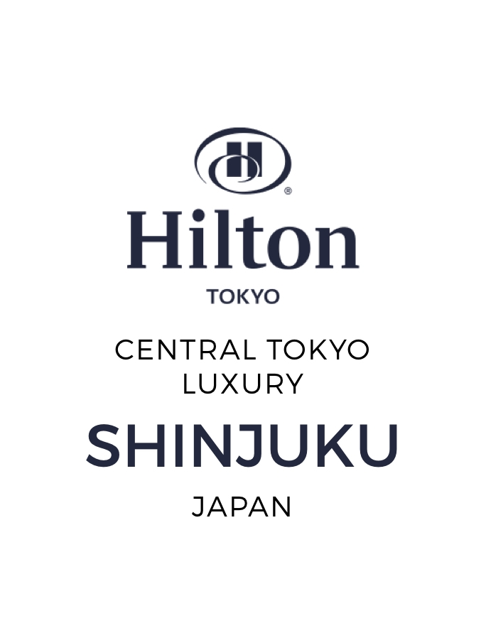 Five-Star Hilton Tokyo Stay in Shinjuku with Six-Course Degustation Dinner