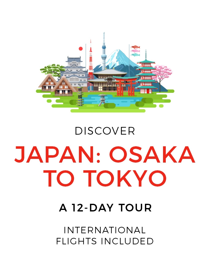 Enchanting Japan: A 12-Day Tour with International Flights