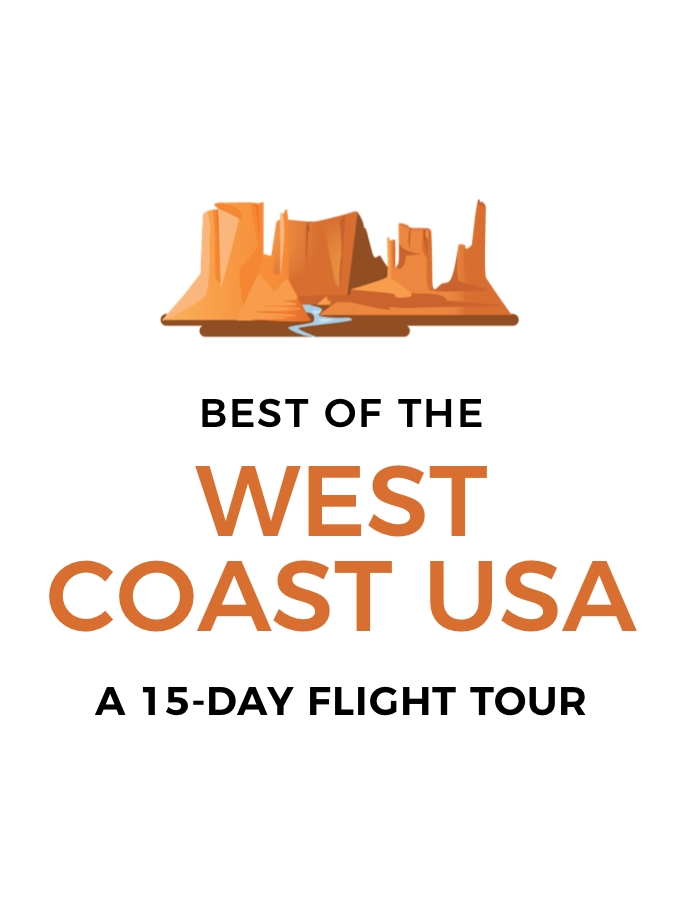 Best of the West Coast USA: 15-Day Flight Tour – Las Vegas, San Francisco, Los Angeles, the Grand Canyon and More
