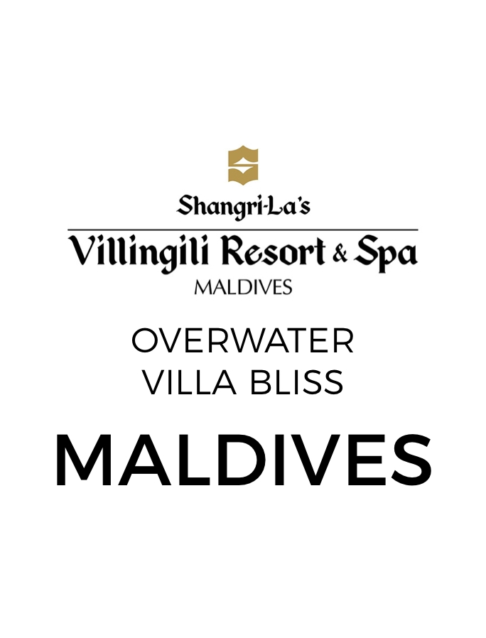 Shangri-La Overwater Villa Luxury with Premium Nightly Dinners