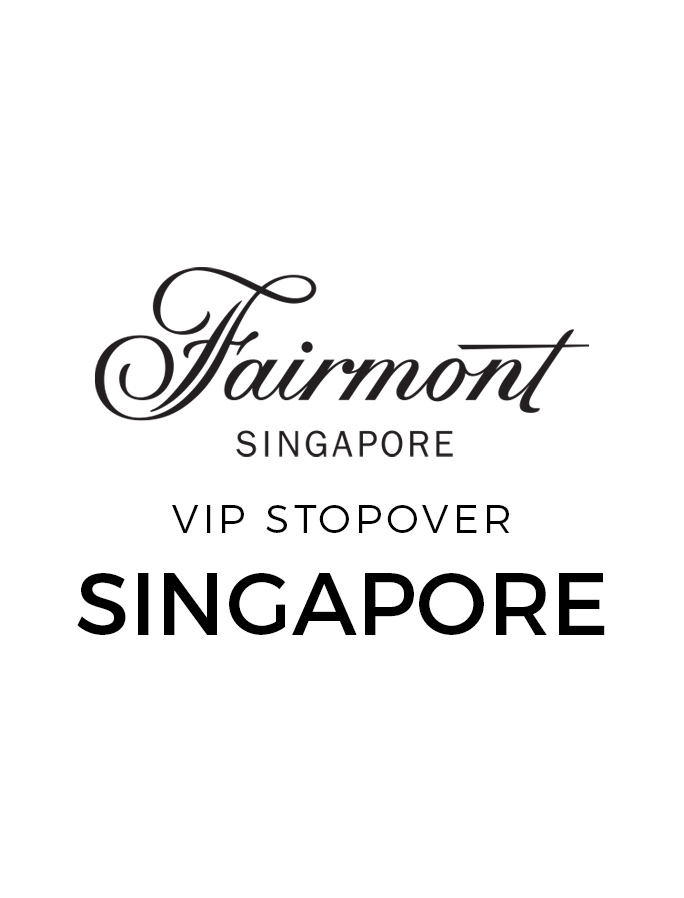 Fairmont Opulence in the Heart of Singapore with Sky-High VIP Gold Lounge Access