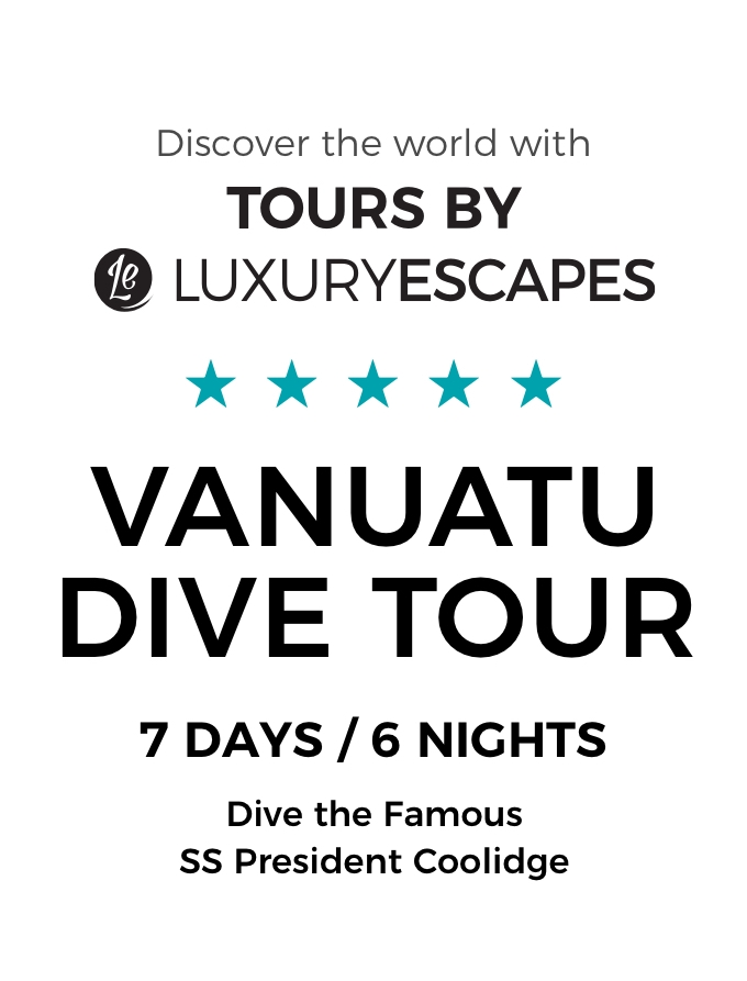 Dive Vanuatu: Explore the Famous SS President Coolidge and Hidden Reefs of Santo