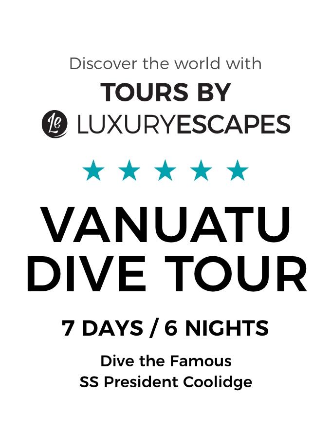 Dive Vanuatu: Explore the Famous SS President Coolidge and Hidden Reefs of Santo