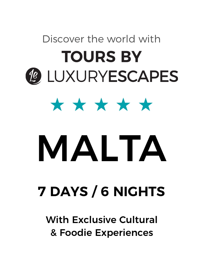 Malta & Gozo: A 7-Day Luxury Small-Group Tour with 5-Star Accommodation and Cooking Class