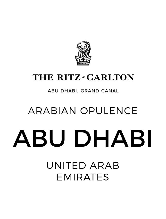 Venetian Elegance at The Ritz-Carlton Abu Dhabi, Grand Canal