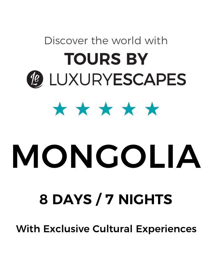 Majestic Mongolia: Small-Group Tour with Five-Star Shangri-La Ulaanbaatar Stay, Authentic Ger Tent Experience and More