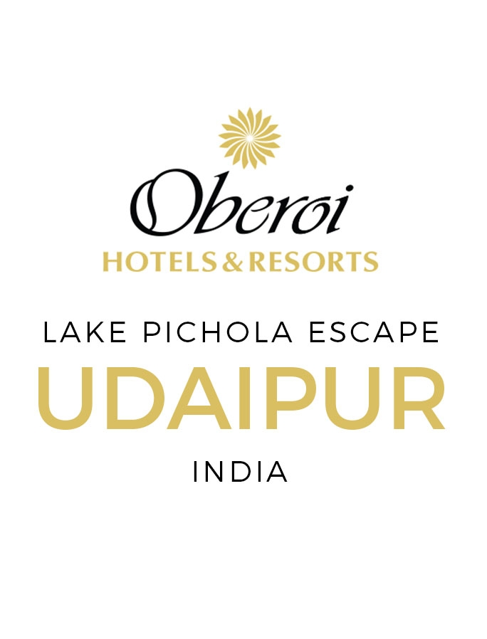 Royal Oberoi Escape on Lake Pichola with All-Inclusive Dining