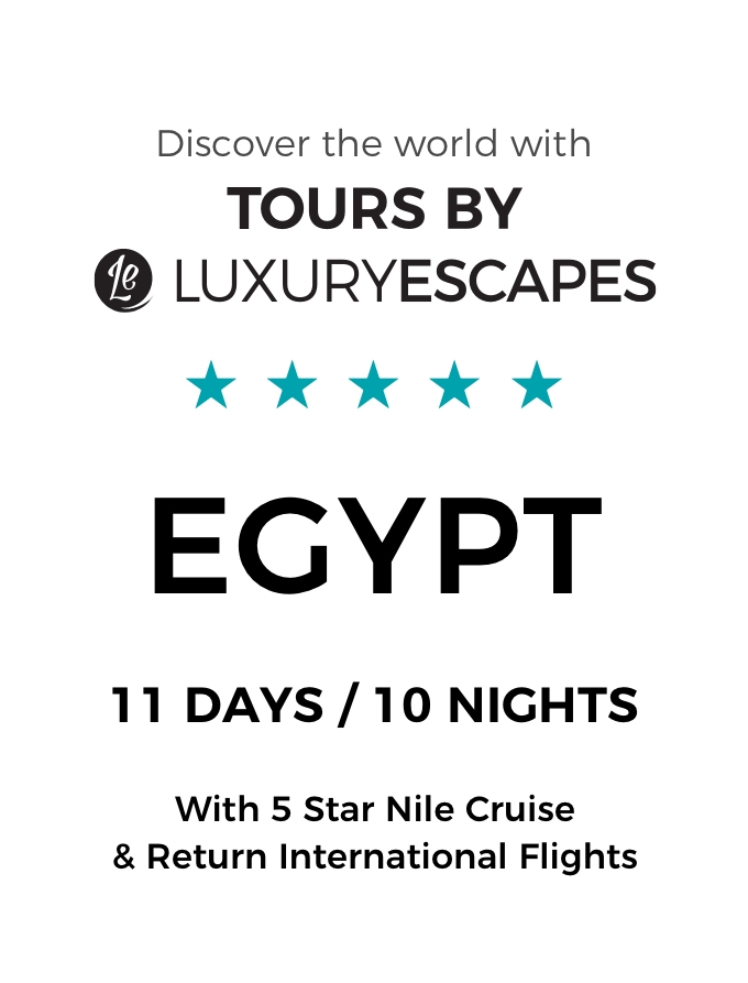 Ancient Egypt: 11-Day Luxury Small Group Tour with Nile Cruise and International Flights