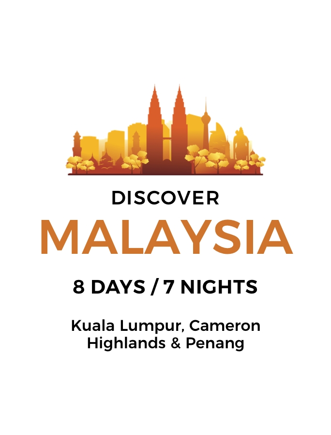 Taste of Malaysia: 8-Day Tour of City Wonders, Cameron Highlands and Culinary Traditions with Five-Star Hotel Stays