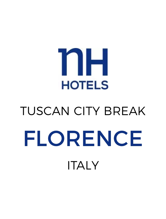 Elegant City Break in the Heart of Florence with Three-Course Tuscan Dinner