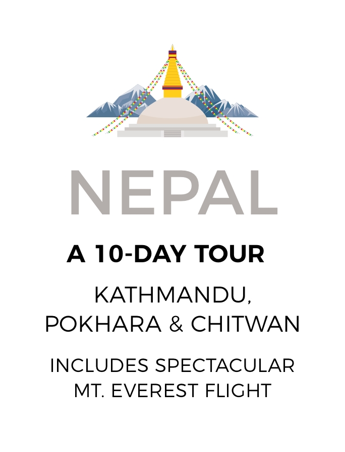 Breathtaking Nepal: A 10-Day Tour with Scenic Everest Flight and Jungle Safari