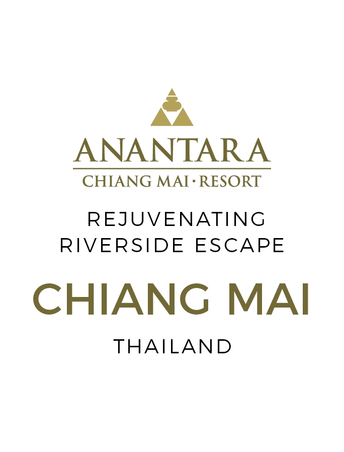 Riverside Relaxation in Thailand's Cultural Capital Chiang Mai with Fine-Dining