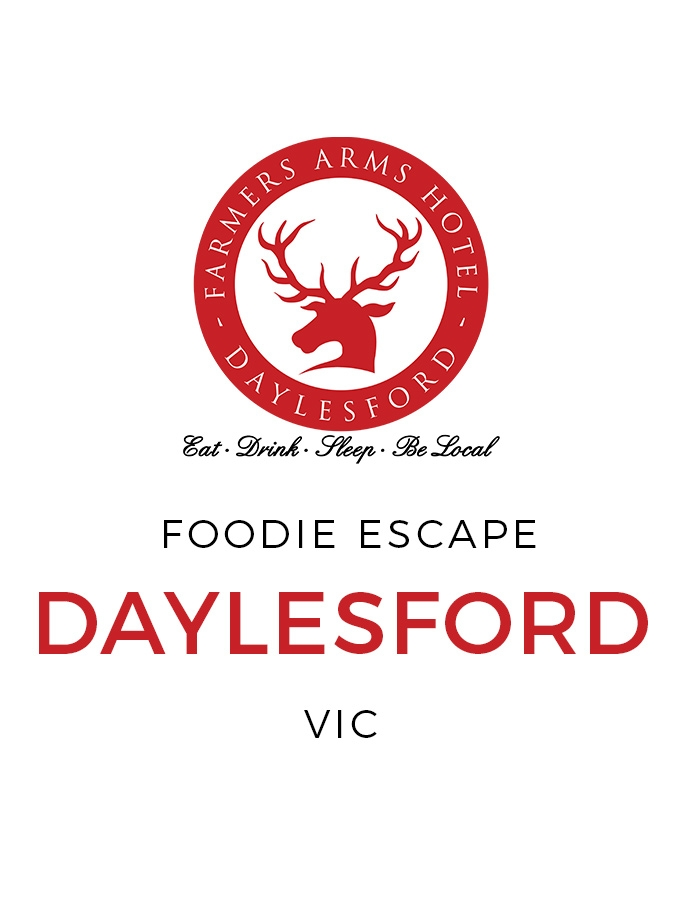 Daylesford Escape with Farmers Arms Wine and Gourmet Dining Inclusions