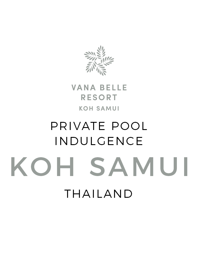 Private Pool Seclusion with Personalised Service & Daily Dining