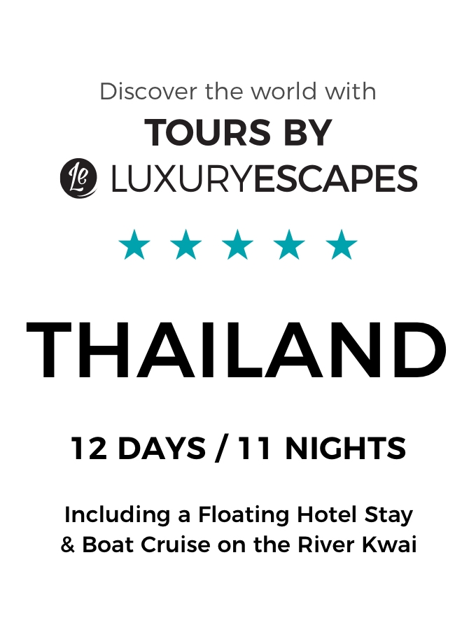 Luxury Small-Group Tour of Exotic Thailand including a Floating Hotel Stay & Boat Cruise on the River Kwai