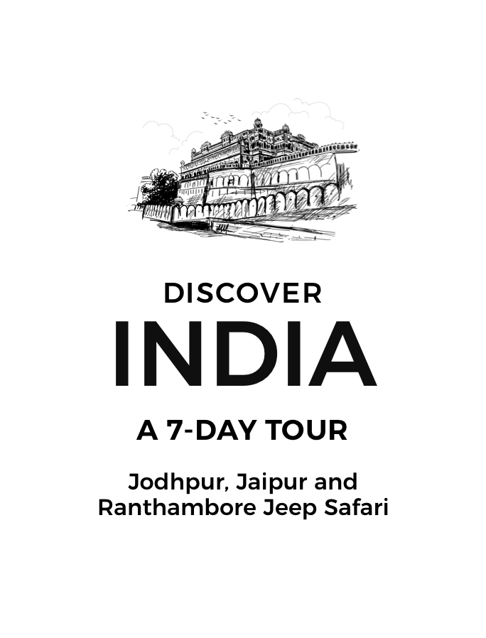 Mesmerising India: A Seven-Day Tour of Jodhpur, Jaipur and Ranthambore with Jeep Safari