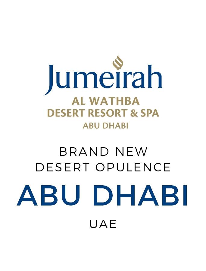 Jumeirah Elegance Amid Abu Dhabi's Awe-Inspiring Desert