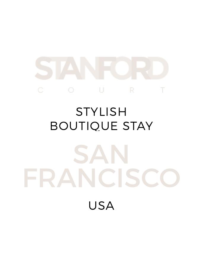 Boutique San Francisco Escape with a Daily Cocktail