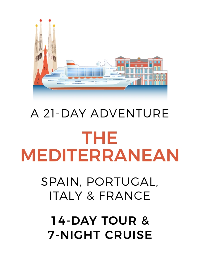 Discover the Mediterranean: The Ultimate 21-Day Land & Sea Adventure