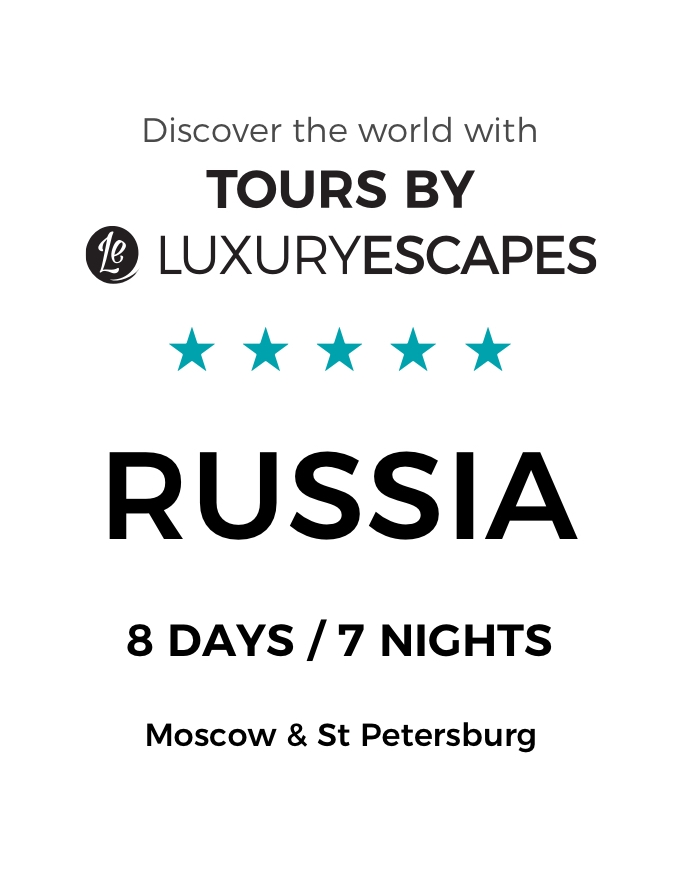 Enchanting Russia: A Luxury Small-Group Tour of Moscow and St Petersburg Including Private Tours and First-Class Bullet Train