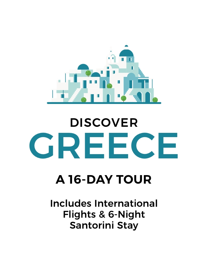 Greece: A 16-Day Tour of Stunning Beaches and Archaeological Treasures with International Flights and 5-Star Santorini Stay