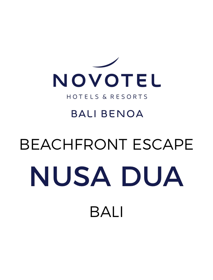 Nusa Dua Beachfront Stay with Dining Experiences and Daily Cocktails