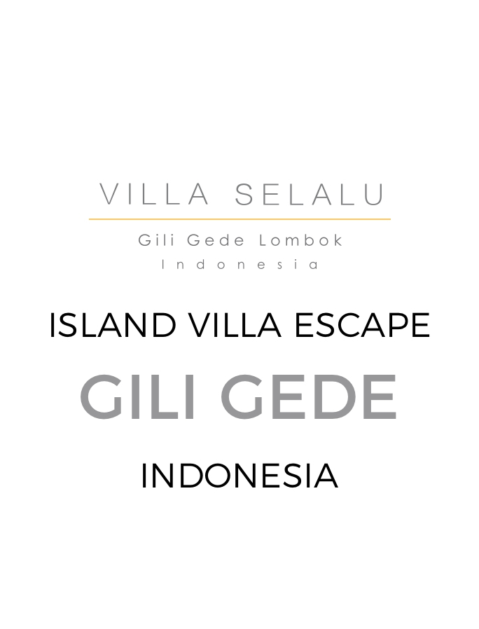 Luxury Beachside Group Villa near Lombok