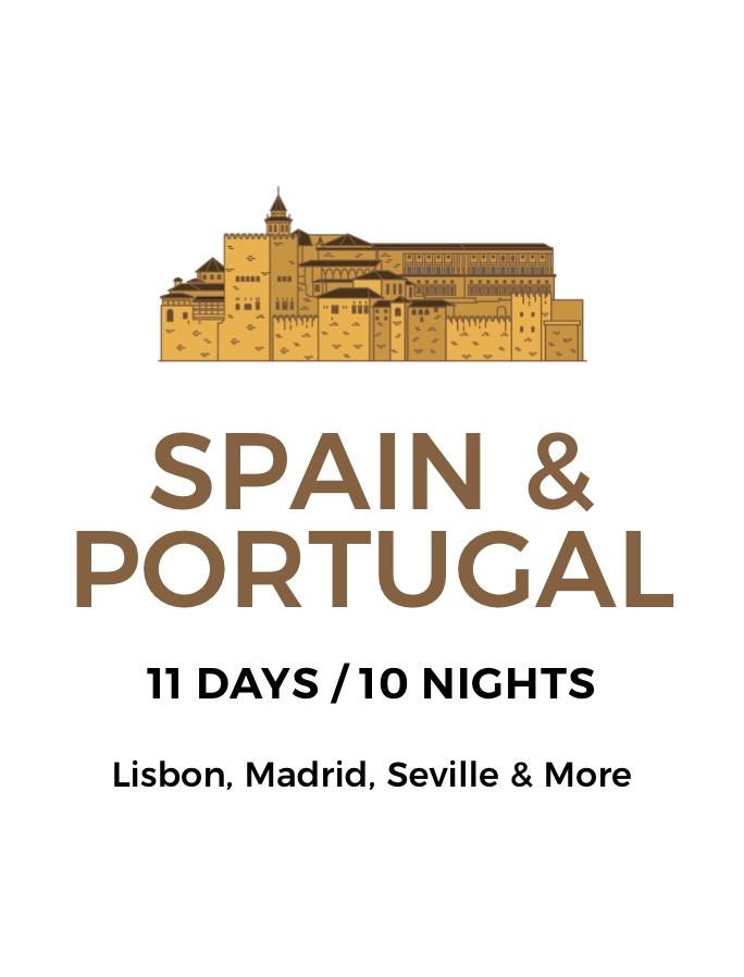 Spain and Portugal: An 11-Day Tour of Historical Discovery Through Lisbon, Seville, Madrid and More