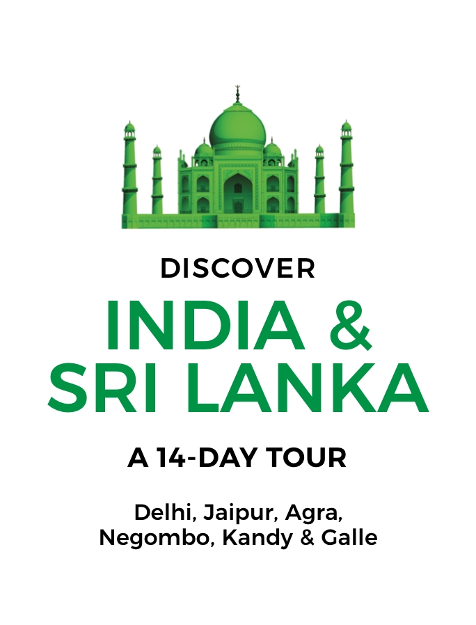 Discover India and Sri Lanka: A 14-Day Tour from Delhi to Galle