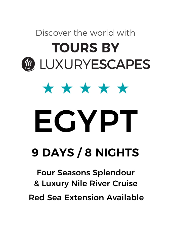 Five-Star Egypt: A Luxury Small-Group Tour with Four Seasons Opulence and Boutique Nile River Cruise