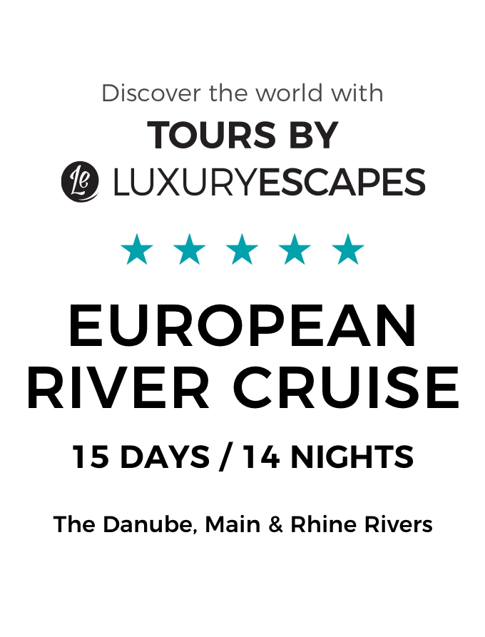 Luxury Escapes Exclusive Private Charter: The Ultimate 15-Day Luxury European River Cruise
