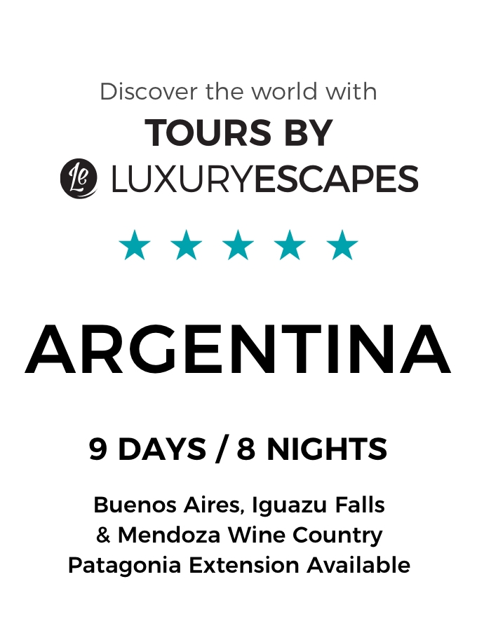 Argentina: Discover Buenos Aires, Iguazu Falls and Mendoza with Five-Star Accommodation and Exclusive Dining