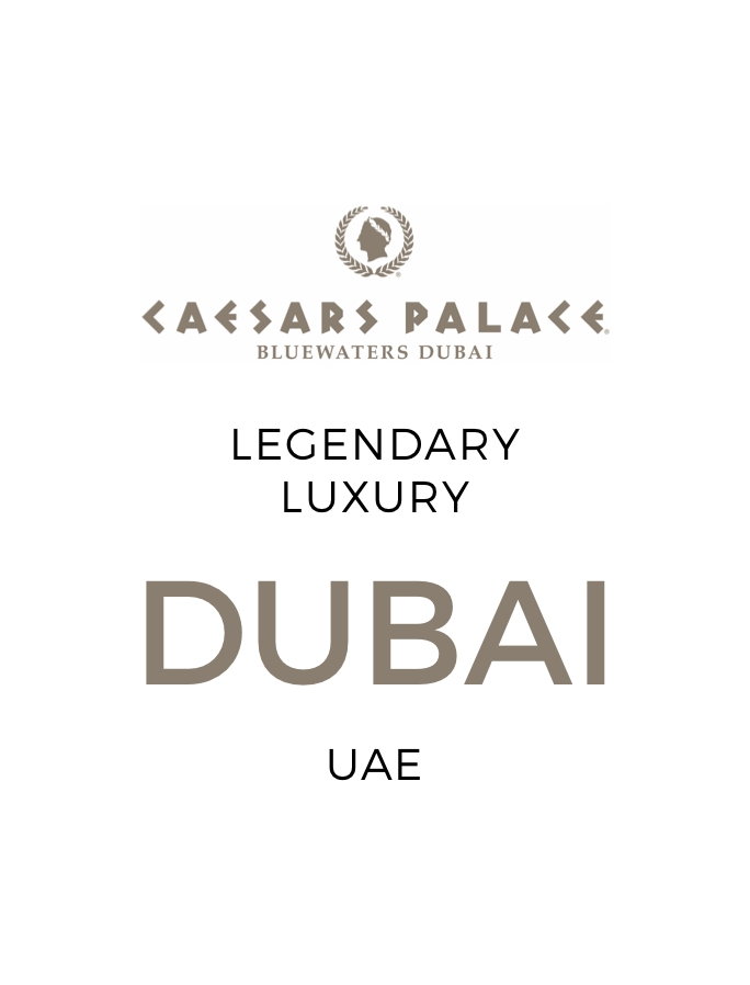 Legendary Luxury on Dubai's Bluewaters Island with Daily Dining